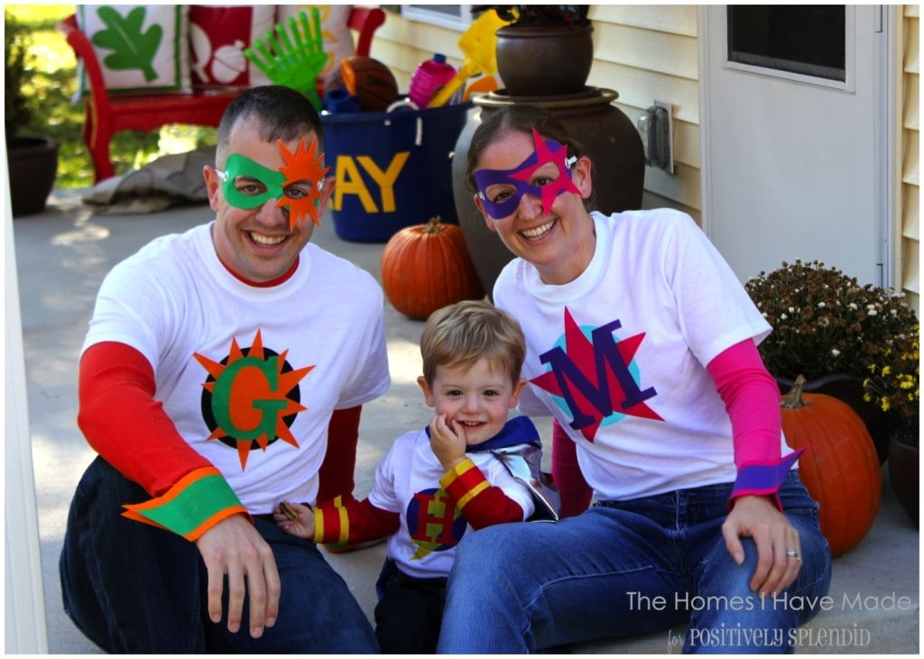 Super Heroes for the Whole Family