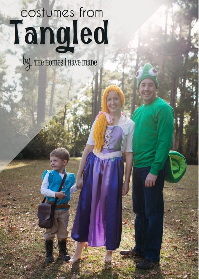 Costumes from Tangled