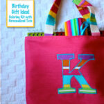 Birthday Gift Idea – Coloring Kit with Personalized Tote