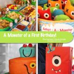 A Monster of a First Birthday Party!
