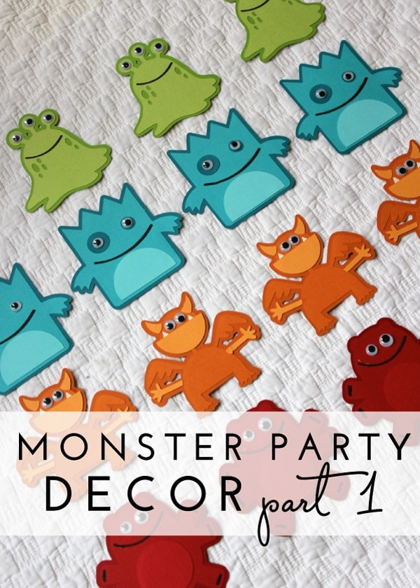 Check out this adorable monster party with tons of DIY monster decor!