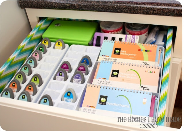 Organizing craft supplies the homes i have made - Organizing craft supplies in small space collection ...