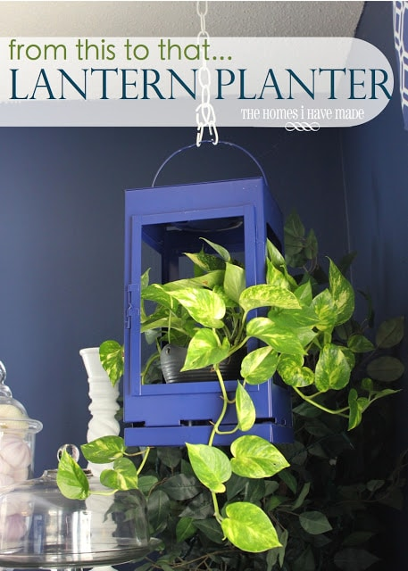 A Lantern Planter