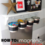 Magnetic Learning Station: How To {Tutorial}