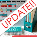 A Magnetic Menu Board Update – Answering Your FAQs!