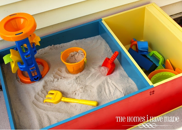 color-block sandbox