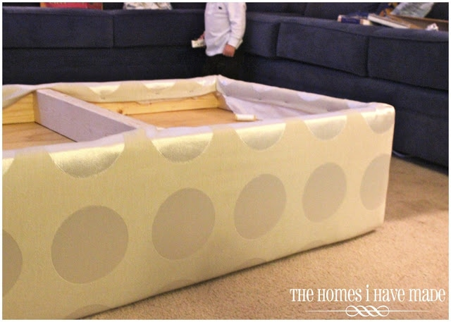 How To Make An Oversized Ottoman Tutorial The Homes I