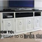 How To Transform a Dresser to a Media Stand {Tutorial}