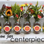 Mason Jar Centerpieces {Holiday Project}