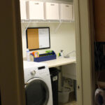 The Laundry Room – How to Coordinate Mis-Matched Baskets for One Room