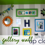 The Gallery Wall Up Close {Little Boy Room Project}