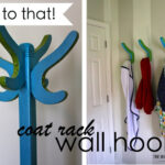 Coat Rack Wall Hooks {From This to That!}