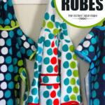 Polka Dot Toddler Robes