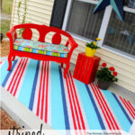 "Striped Outdoor ""Rug"""
