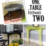 One Table Becomes Two