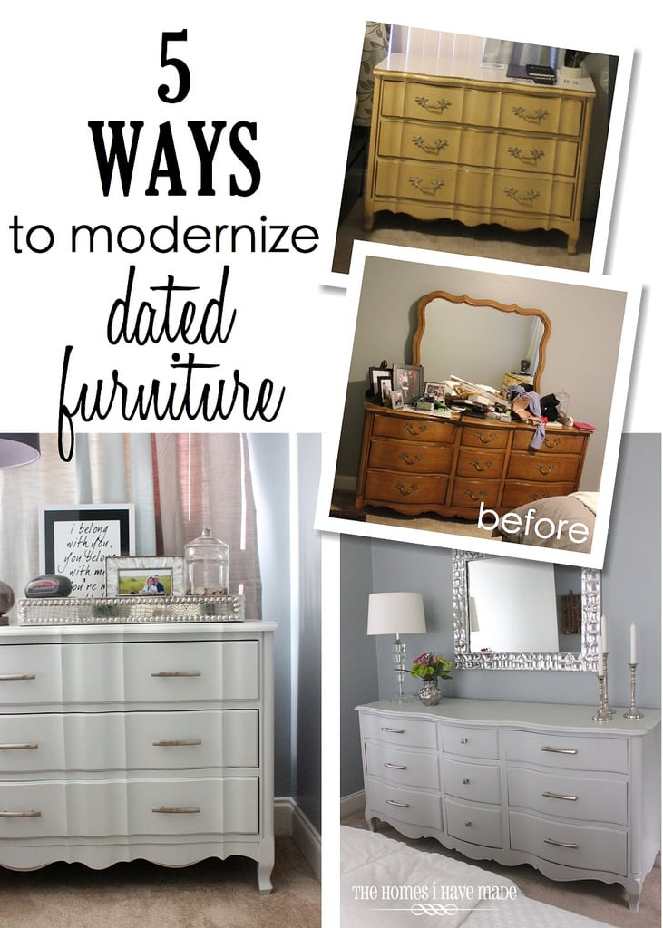 5 Ways To Modernize Dated Furniture The Homes I Have Made