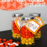Candy-Corn-Inspired Treat Jars!