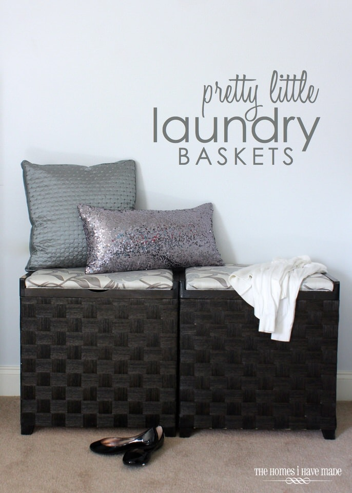Pretty Little Laundry Baskets
