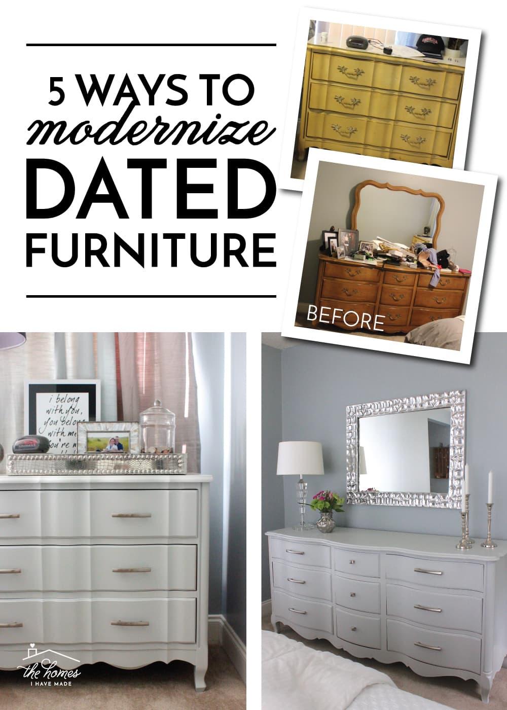 Modernize Dated Furniture