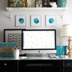 Office Desk Makeover Reveal