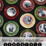 Family Photo Medallion Ornaments