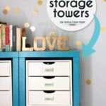 Inside the Storage Towers (More Office and Craft Supply Storage!)