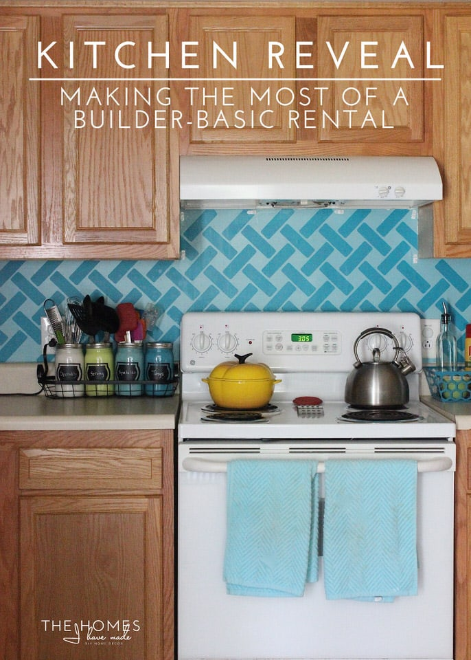 Builder Basic Kitchen Reveal