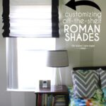 Customizing Off-the-Shelf Roman Shades