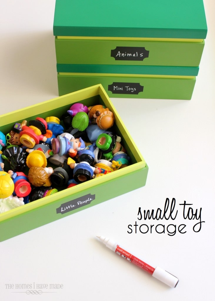 Small Toy Organizer : Small toy storage the homes i have made