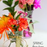 Spring Flower Party Favors