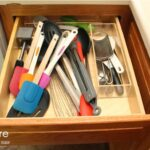 Decrease Drawer Clutter with Painted Utensil Jars – @ForRent.com!