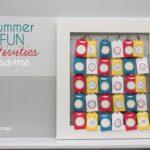 Summer Fun Activities Frame