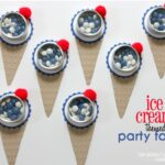 Ice Cream Cone Themed Party Favors – @My Daily Bubble!