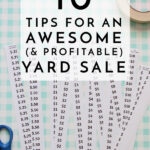 10 Tips for an Awesome Yard Sale