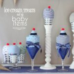 Ice Cream Treats out of Baby Items