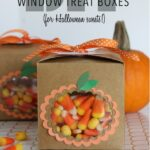 DIY Window Treat Boxes (For Halloween Sweets!)