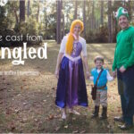 Halloween 2014 – the Cast from Tangled