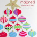 Vintage Ornament Magnets (made from tile!)