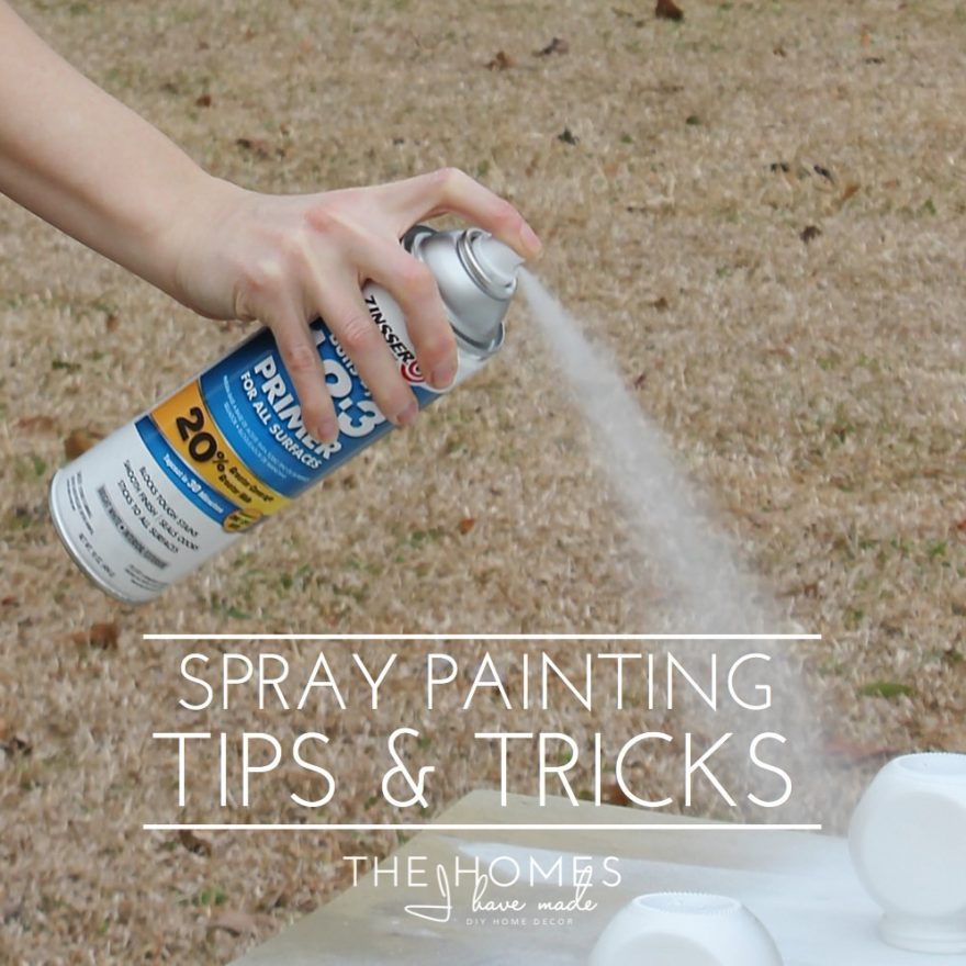 My best spray painting tips tricks the homes i have made for Spray paint ideas