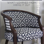 Upholstery – What I Learned From Hiring It Out