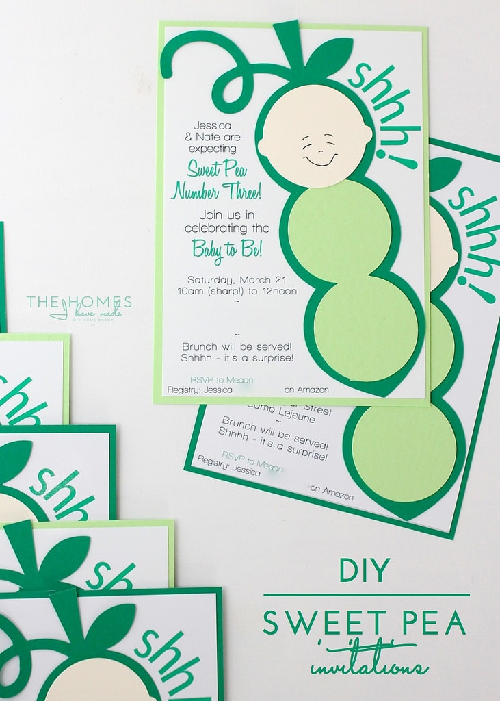DIY | Sweet Pea Invitations