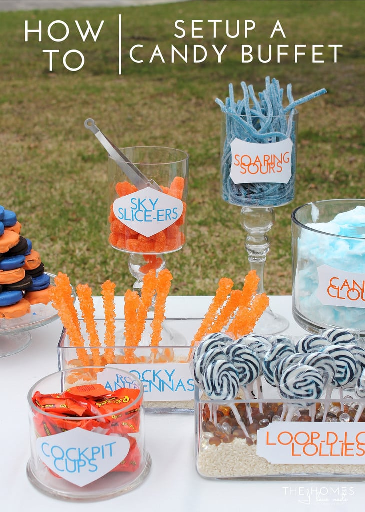 How To | Setup a Candy Buffet