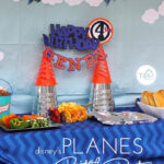 Disney's Planes 4th Birthday Party