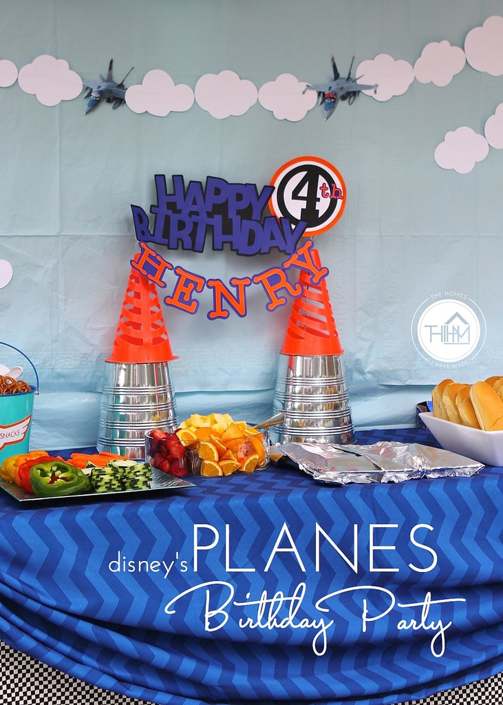 Disney S Planes 4th Birthday Party The Homes I Have Made