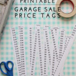 Printable | Garage Sale Price Tags