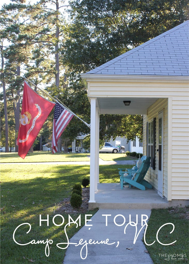 Home Tour | Camp Lejeune, North Carolina