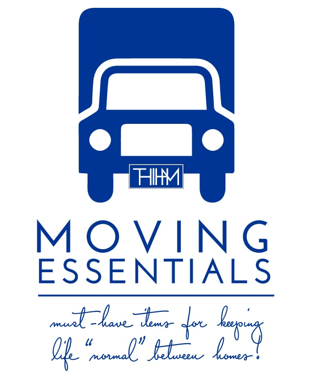 "Moving Essentials | Must-Have Items for Keeping Life ""Normal"" Between Homes!"