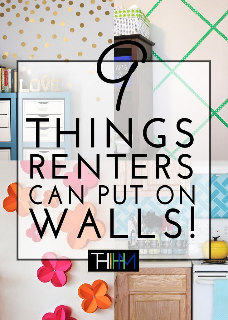 9 things renters can put on walls the homes i have made for Cool things to put on your wall
