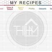 Recipe Catalog 1 - Modern