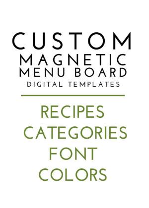Custom Menu Board Magnets